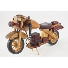 MOTOCYKL DREWNIANY S111258 29CM